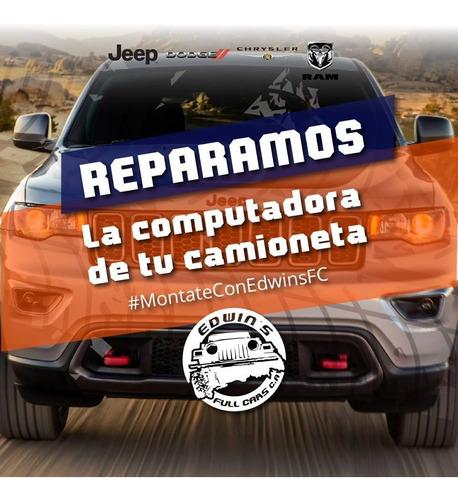 reparación de computadoras jeep dodge chrysler ram