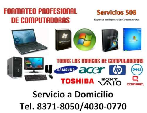 Reparación De Computadoras, Laptops En Heredia A Domicilio ... - photo#13