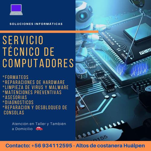 reparación de computadores - servicio técnico - notebook -pc