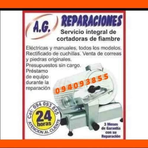 reparacion de cortadoras de fiambre y equipamiento comercial