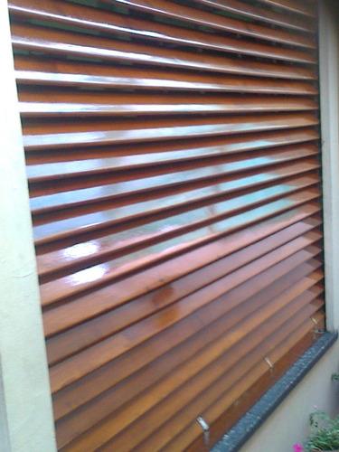reparacion de cortinas de enrrollar de madera