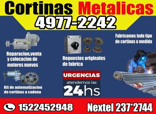 reparación de cortinas metálicas urgencias 24hs