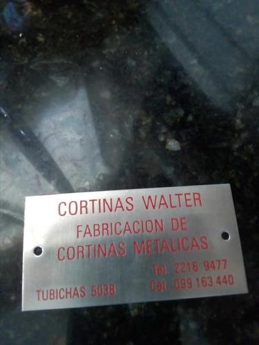 reparacion de cortinas metalicas walter