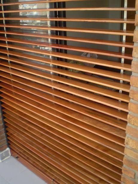 Reparacion de cortinas o persianas barrio de madera en - Cortinas de madera ...