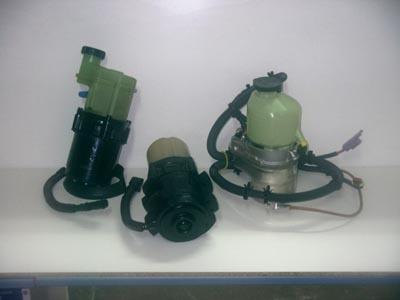 reparación de cremallera cajas mangueras bombas hidráulica
