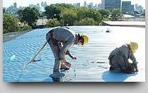 reparacion de cubiertas metalicas, tinglados y galpones.