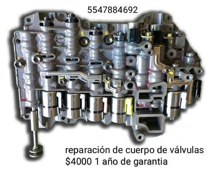 reparacion de cuerpos de valvulas transmissiones automaticas