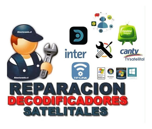 reparación de decodificadores satelitales