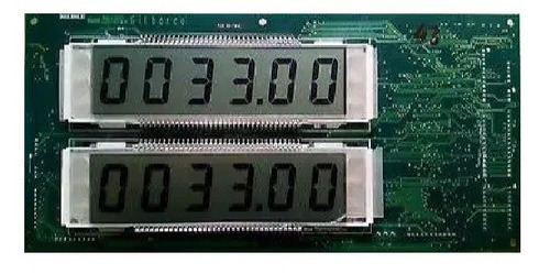 reparacion de display de surtidor/dispensador gilbarco,wayne