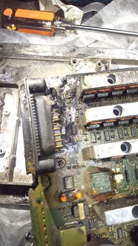 reparación de ecms quemados celect y plus detroit diesel