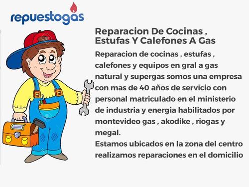 reparacion de eestufas y cocinas a gas ,tecnicos habilitados