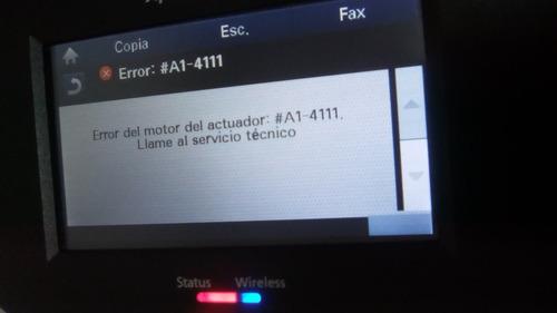 reparacion de el error  # a1-4111 samsung c1810 c1860 serie