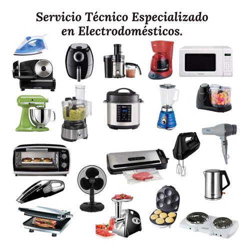 reparación de electrodomésticos, aires acondicionados, etc
