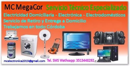 reparación de electrodomésticos - electricidad domiciliaria