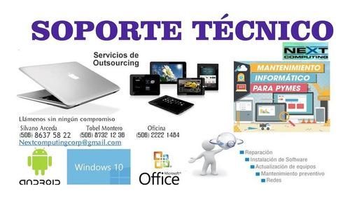 reparacion de equipo de computo, servicios outsourcing, mant