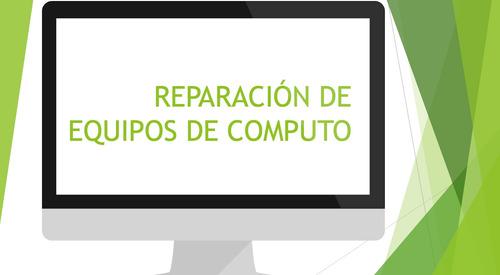 reparación de equipo de computo, windows, mac