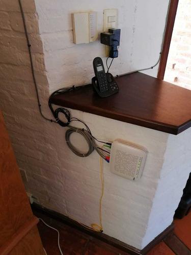 reparación de fibra óptica, reubicación. cableados de red.