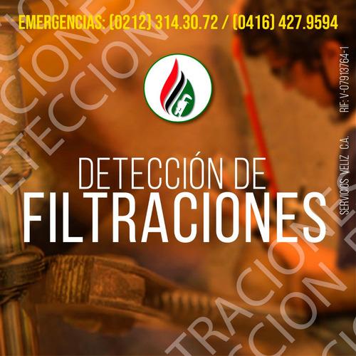 reparación de filtraciones techo, pared, ocultas, 24 horas