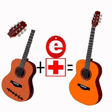 reparacion de guitarras acusticas en general