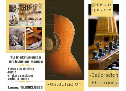 reparación de guitarras zona oeste