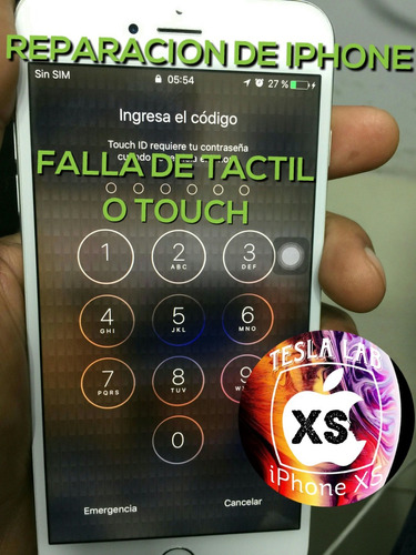 reparacion de ic touch iphone 6 iphone 6 plus al momento