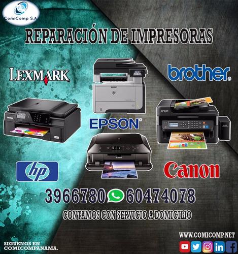 reparacion de impresoras  hp y demas
