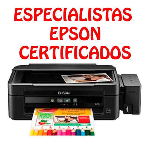 reparación de impresoras, sistemas de tintas y computadoras