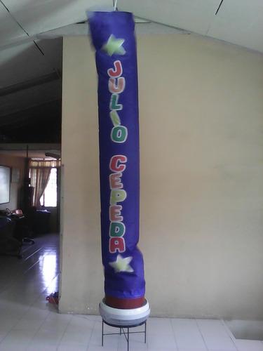 reparacion de inflables publicitarios y tubos bailadores