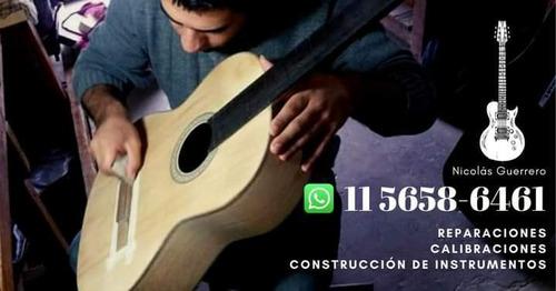 reparación de instrumentos ( guitarras y bajos)