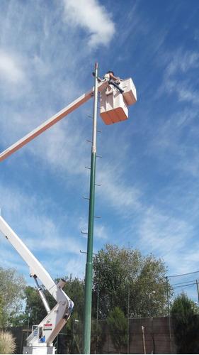 reparación de lámparas y luces en canchas tenis rugby fútbol