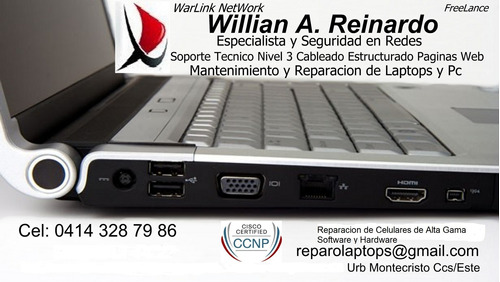 reparacion de laptops y pcs celulares de gama alta caracas /