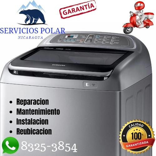 reparacion de lavadoras adomicilio managua
