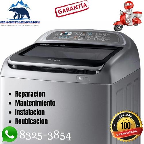 reparacion de lavadoras en managua servicios adomicilio