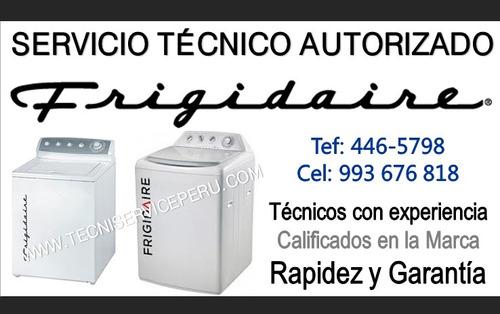 reparación de lavadoras frigidaire