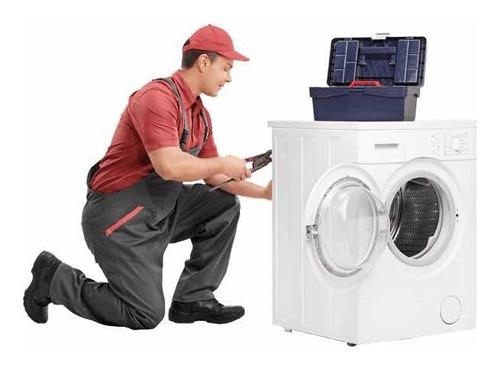reparación de lavadoras, secadoras, refrigeradores, etc.