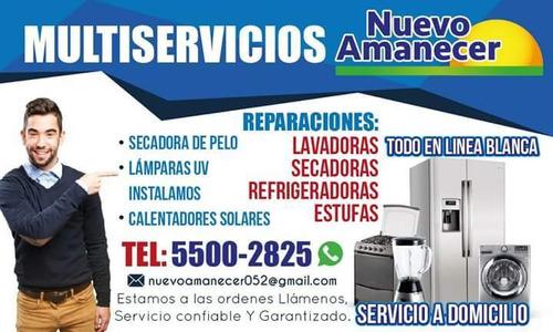 reparación de lavadoras y secadoras de ropa