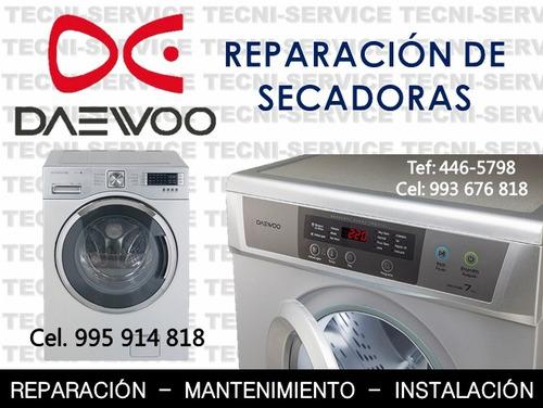 reparación de lavadoras y secadoras en la molina