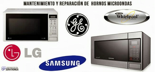 reparacion de lcd y led,microondas, tarjetas de aire acond.