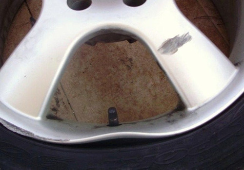 reparación de llanta rodado 16 centrado
