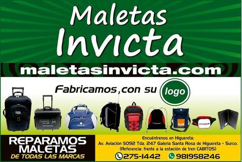 reparación de maletas, maletines, mochilas decualquier marca