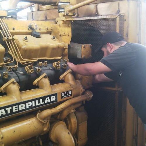 reparacion de maquinaria pesada caterpillar mecanico diesel
