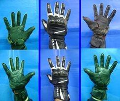 reparación de monos,camperas,botas y guantes. (cuero)
