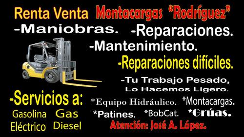 reparacion de montacargas y sistemas hidraulicos patines