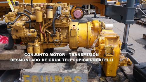 reparación de motores cummins - komatsu