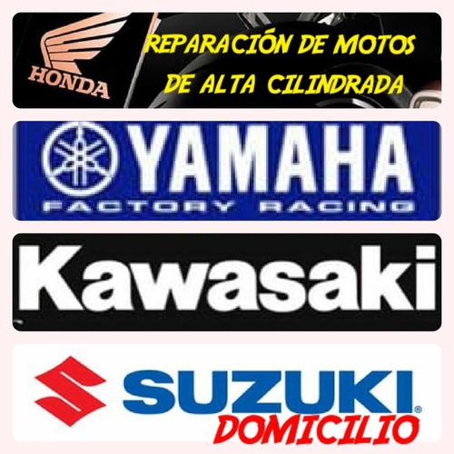 reparación de motos de alta cilindrada a domicilio