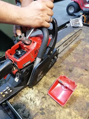 reparación de motosierras