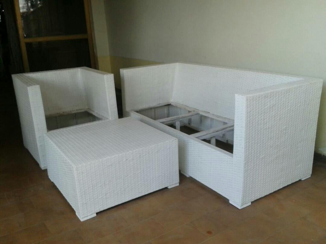 Reparaci n de muebles en rattan y cojines en mercado libre for Rattan muebles