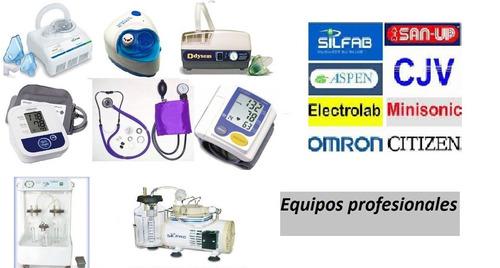 reparacion de nebulizadores, tensiometros, eq. medico