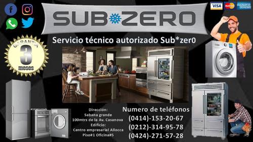 reparacion de nevera freezer lavadora secadora sub*zero g,e