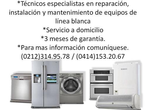 reparacion de nevera lavadora secadora whirlpool samsung lg